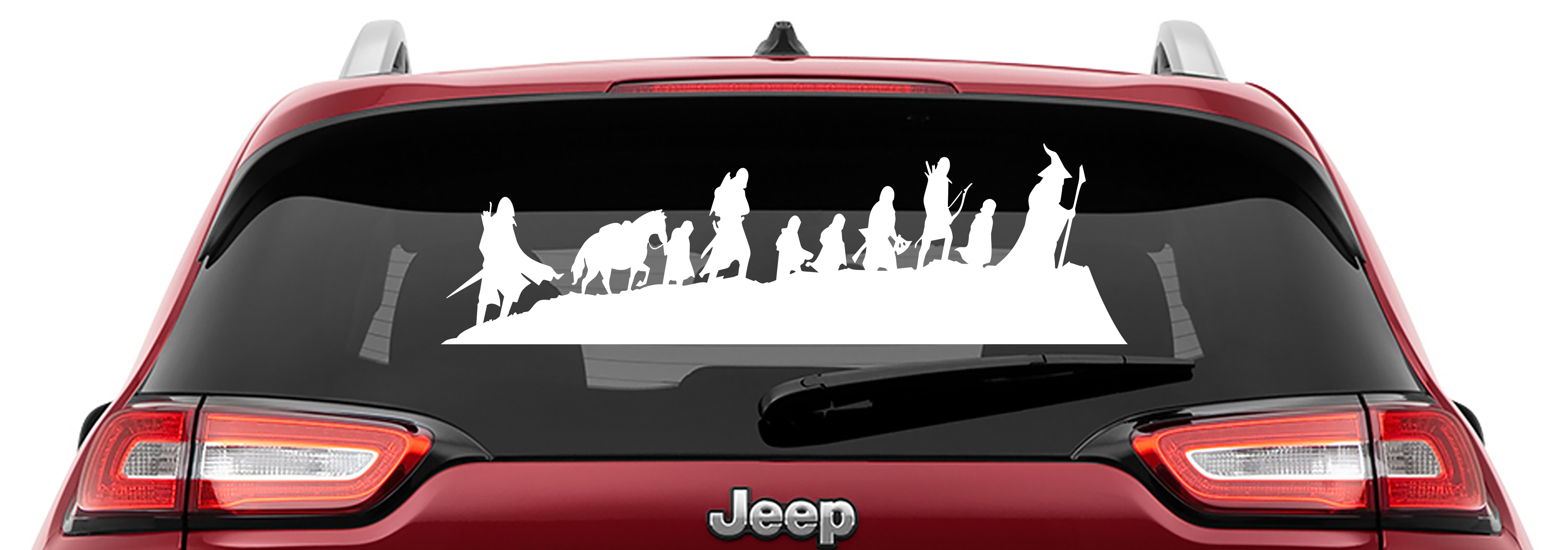 Lord Of The Rings The Fellowship of the Ring Caravan Vinyl Decal