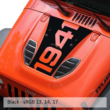 10th Anniversary 1941 Blackout Hood Vinyl Decal