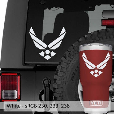 United States Airforce Insignia Vinyl Decal