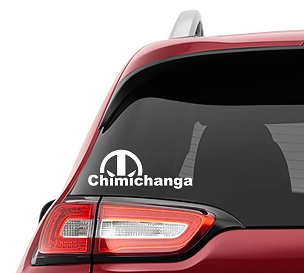 Chimichanga Deadpool Vinyl Decal