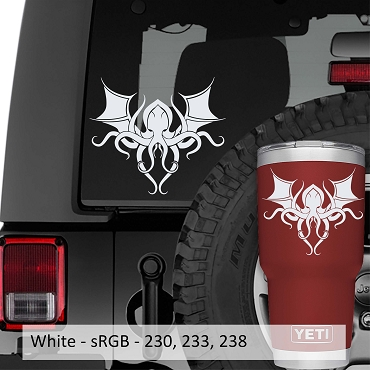 Cthulhu Ancient One Vinyl Decal
