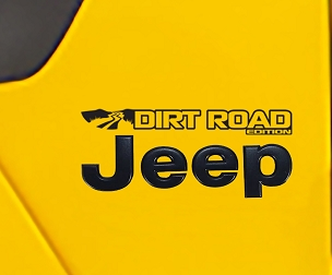 Fender Decals For Wrangler/Gladiator - JL/JT Dirt Road Edition Decal (Pair)