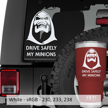 Drive Safely My Minions Vinyl Decal