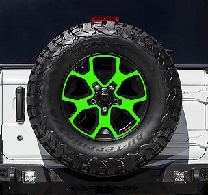 Vinyl Decal Wheel Overlays 17