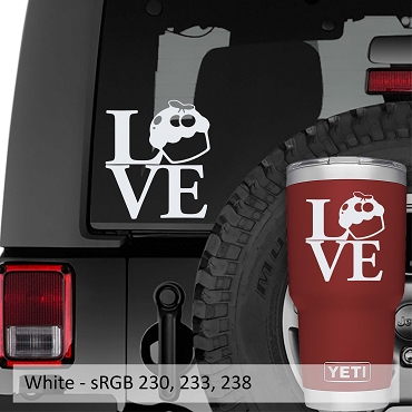 Love Cupcakes Vinyl Decal