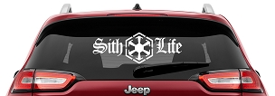 Sith Life Vinyl Decal