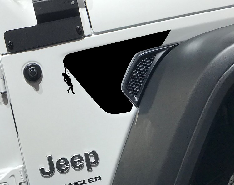 Jeep JL Male Rock Climber Vent Decal
