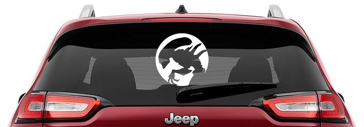 Alien Xenomorph Vinyl Decal